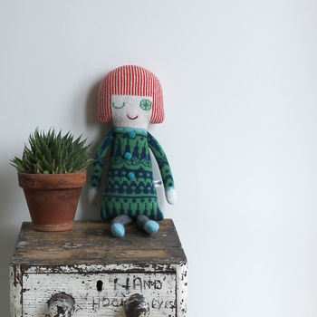 Knitted Lambswool Scandi Dolly