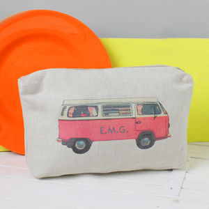 Personalised Campervan Wash Bag - make-up & wash bags
