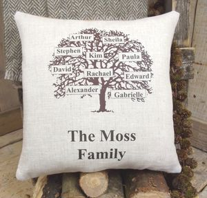 ' Family Tree ' Cushion - view all mother's day gifts