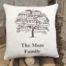 ' Family Tree ' Cushion