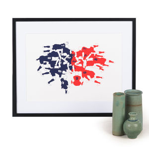 Rugby Scrum Limited Edition Print