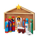 Three Christmas Nativity Sets