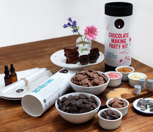 Chocolate Making Party Kit - baking kits