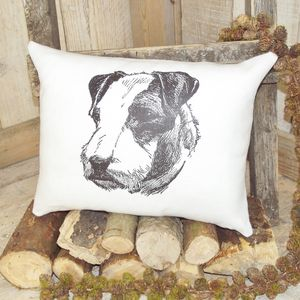 Airedale Terrier Linen Cushion