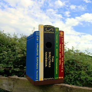 Personalised Books On Shelf Bird Box - view all father's day gifts