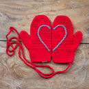 Red Heart Mittens