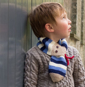 Stripy Snake Scarf - children's accessories