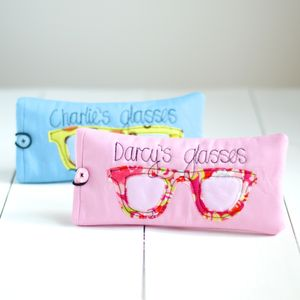 Personalised Children's Glasses Case