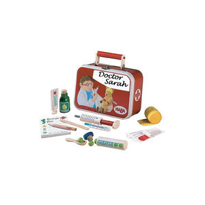Doctors Set In Case - traditional toys & games