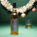 Personalised Xmas Single Malt Whisky With Pewter Label