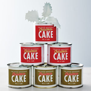 Christmas Cake In A Can - stocking fillers for him