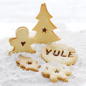 Christmas Jammie Biscuits - christmas parties & entertaining