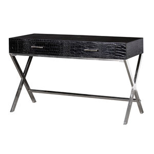 Crocodile Skin Effect Console - side tables