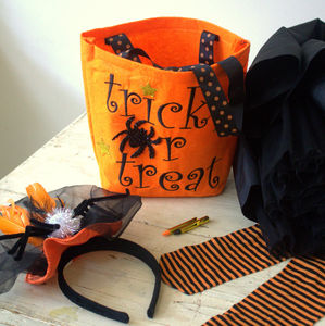 Halloween Trick Or Treat Bag - trick or treat bags