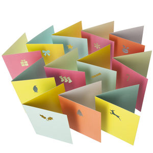 Very Merry Christmas Card Collection Packs - cards & wrap