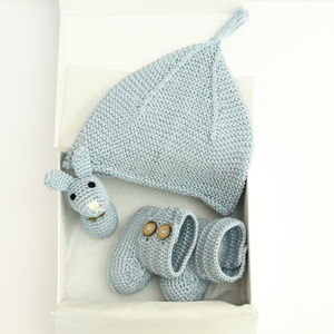 Handmade Three Piece Baby Gift Set - baby shower gifts & ideas
