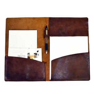 Leather Document Case A4