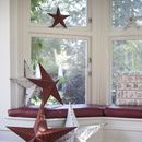 Medium Metal Amish Barn Star