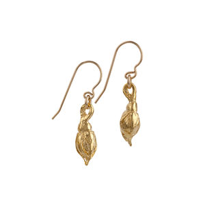 A Rose By Any Other Name Earrings In Gold - summer sale