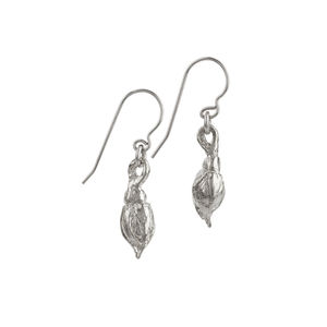 A Rose By Any Other Name Earrings In Silver