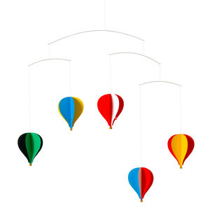 Hot Air Balloon Mobile - decorative accessories