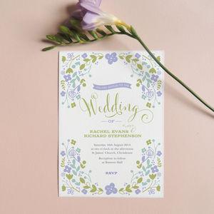 Harriet Wedding Invitations - invitations