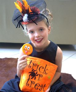 Halloween Witches Hat Headband - babies & children