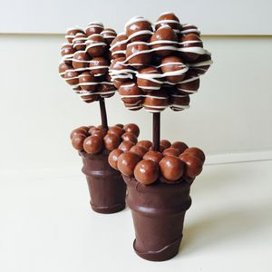 Personalised Honeycombe Chocolate Edible Tree