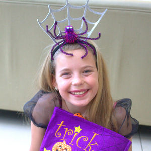 Halloween Spiderweb Headband - fancy dress