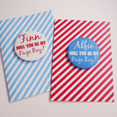 Be My Pageboy Card With Badge