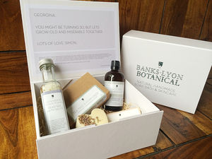 Create Your Own Personalised Gift Box - home