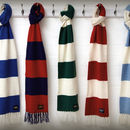 Luxury Cashmere Football Scarf Gift Boxed Grande Size