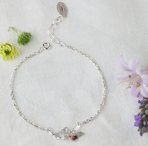 Tiny Bird Bracelet - women's jewellery