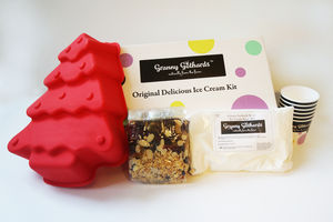 Christmas Ice Cream Making Kit Special Offer