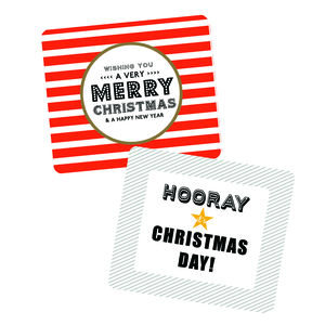 Wishing You A Merry Christmas Gift Sticker Pack - winter sale