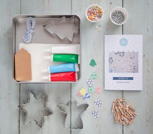 Bake It Yourself Advent Biscuit Kit - make your own kits