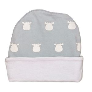 Organic Solid Cow Print Design Hat - hats, scarves & gloves