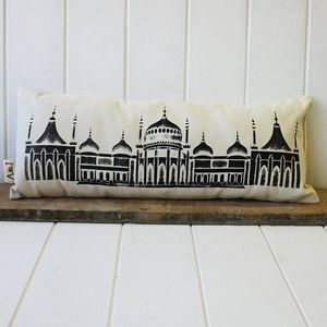 Handmade Brighton Royal Pavillion Cushion - cushions