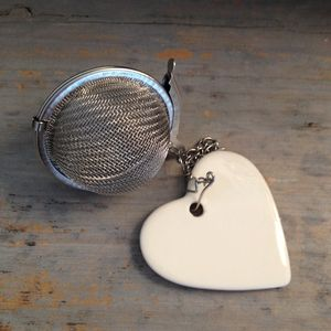 Heart Tea Ball / Infuser - food & drink