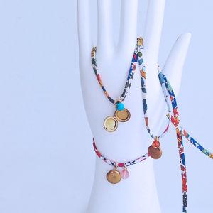 Lady Liberty Bracelets With Liberty Ribbon