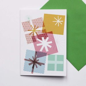 Parcels Card - christmas cards