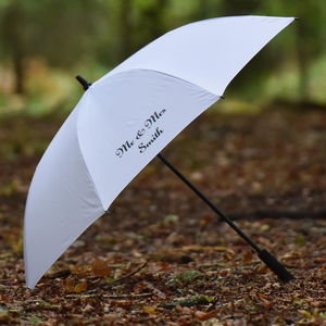 Personalised 'Wedding Umbrella' - umbrellas & parasols