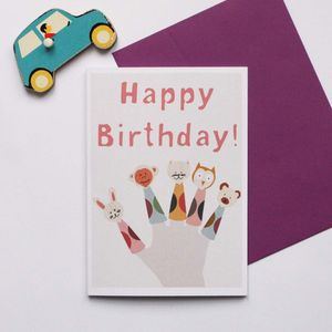 Finger Puppets Card