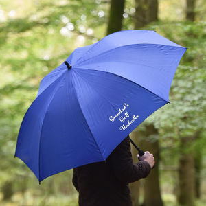 Personalised 'Grandad's' Golf Umbrella - sports fan