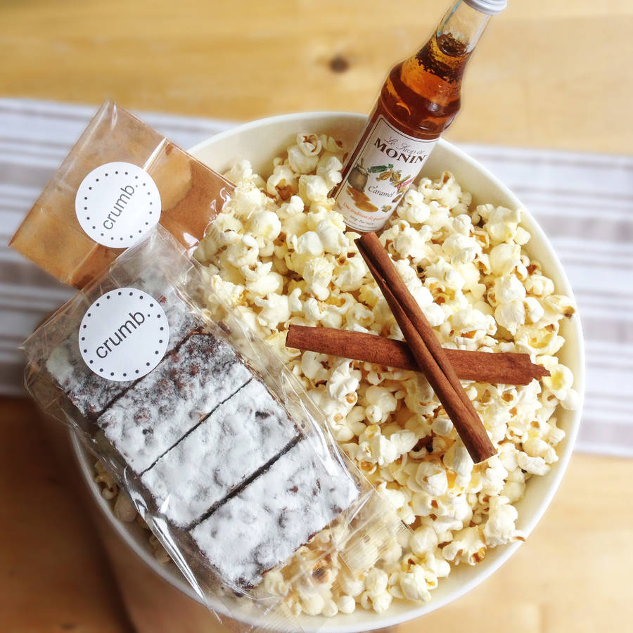 Popcorn Connoisseur Movie Night Box
