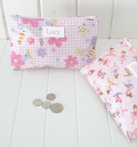 Child's Personalised Pocket Purse - bags, purses & wallets