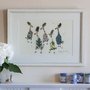 Ladies Who Lunch Print - original art under £100
