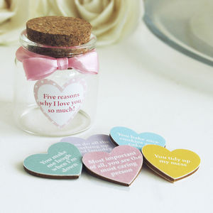 Love Tokens In A Bottle - love tokens for her