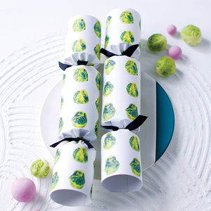 Brussels Sprouts Christmas Crackers - last-minute christmas decorations