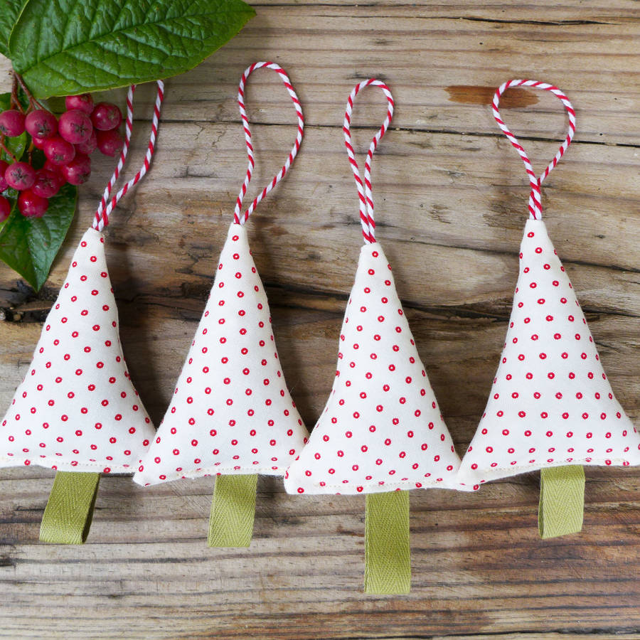 Handmade christmas tree decorations by charlotte macey for Home made christmas tree decorations